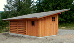 Symes Garden / Wood shed